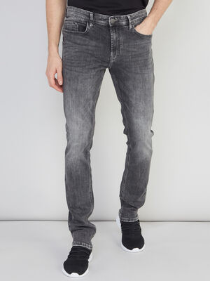 Jeans skinny denim stone homme