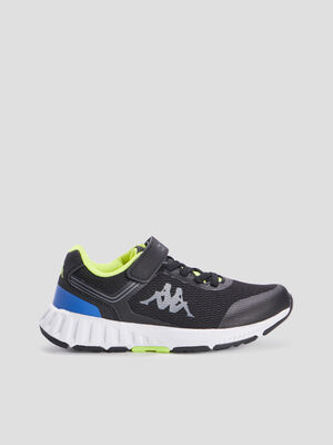 Baskets running Kappa noir garcon