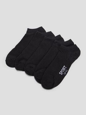 Socquettes noir homme