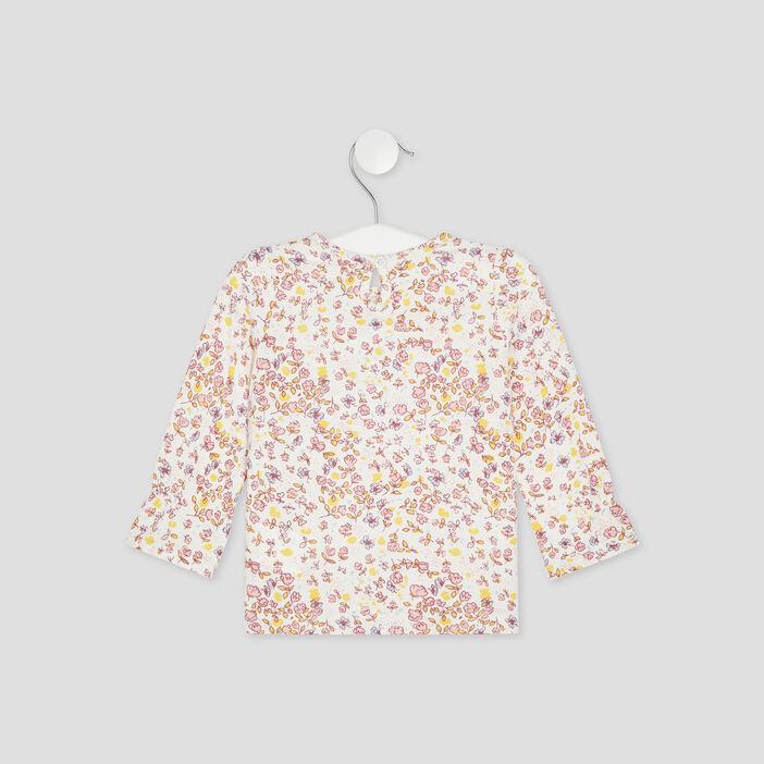 T-shirt manches longues Creeks bébé fille multicolore