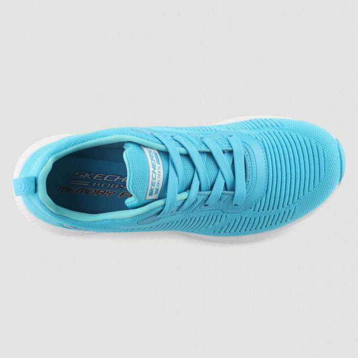 Runnings Skechers BOBS SQUAD femme bleu