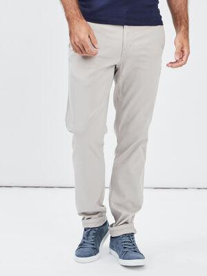 Pantalon chino slim Creeks beige homme