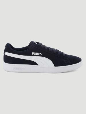 Tennis cuir Puma SMASH V2 bleu homme