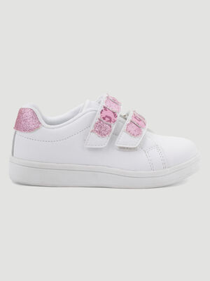 BASKETSTENNIS BASSES blanc fille