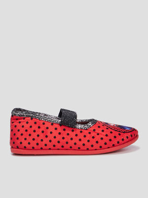 Chaussons Miraculous Ladybug rouge