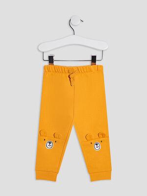 Pantalon jogging jaune bebeg