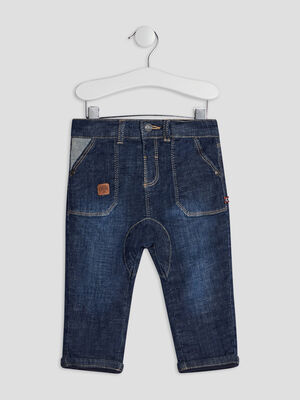 Jeans droit denim brut bebeg