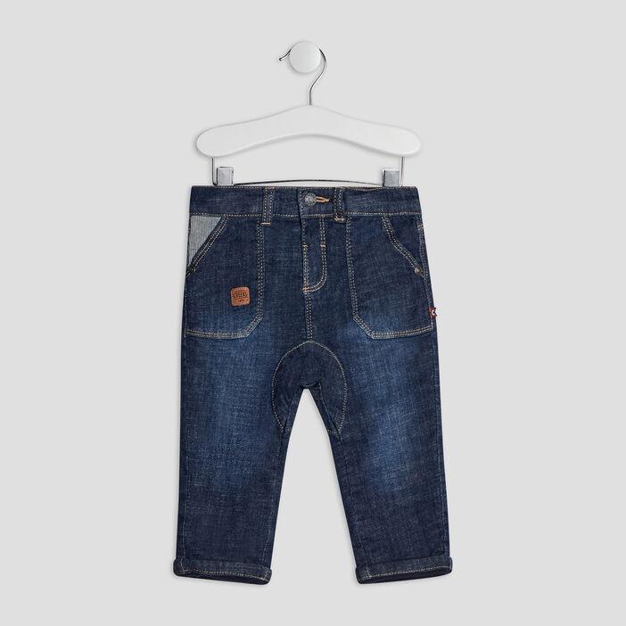 Jeans droit bébé garçon denim brut