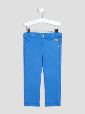 Pantalon droit Creeks bleu bebeg