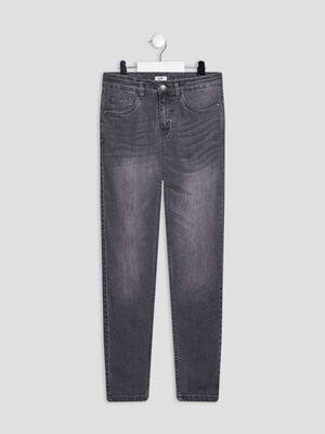Jeans skinny gris garcon