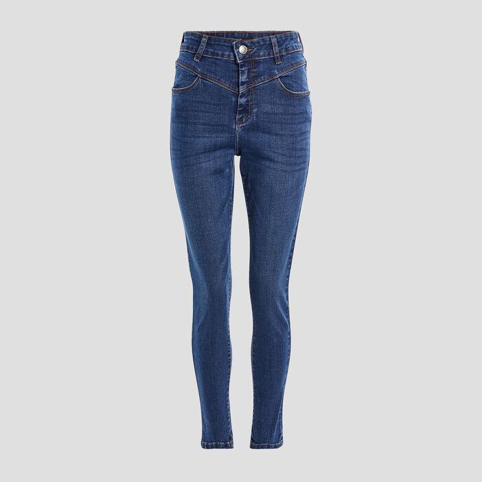 Jeans slim Mosquitos femme denim double stone