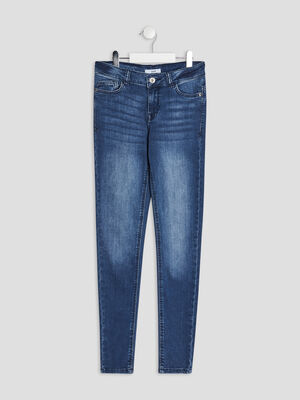 Jeans skinny denim brut fille