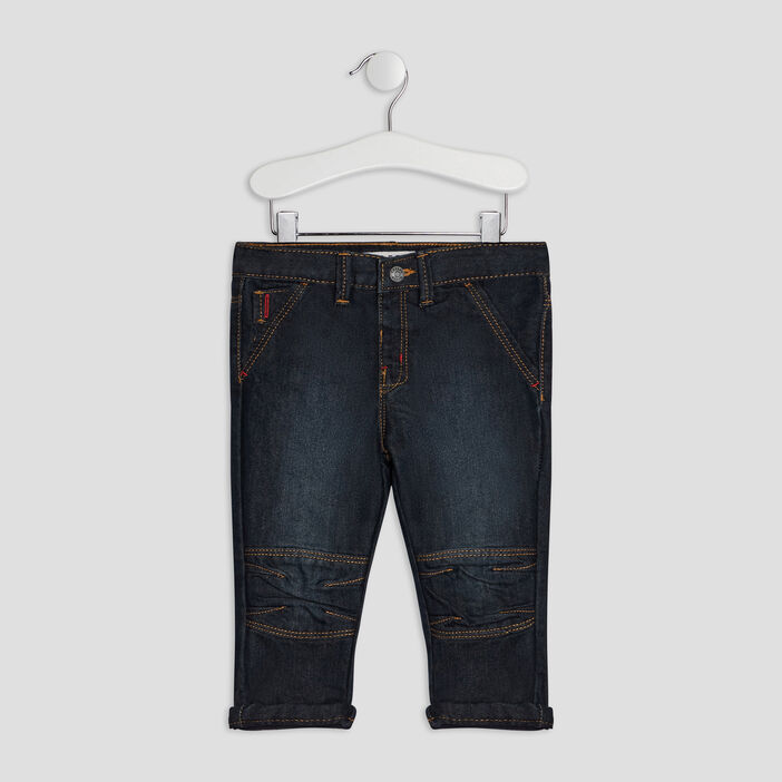 Jeans straight Creeks bébé garçon denim brut