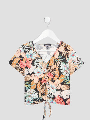 T shirt Liberto multicolore fille