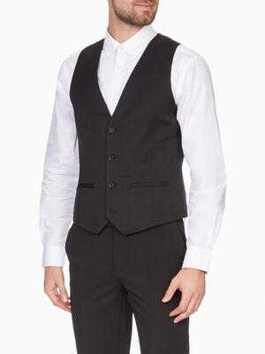 Veste sans manches noir homme
