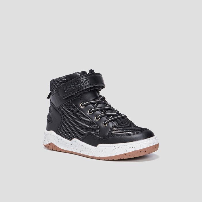 Baskets montantes Liberto garçon noir