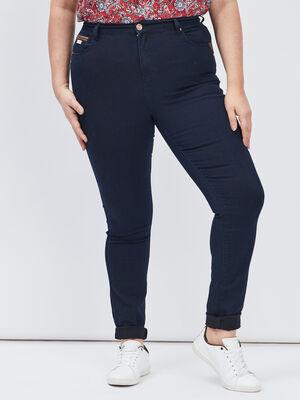 Jeans slim grande taille denim brut femmegt