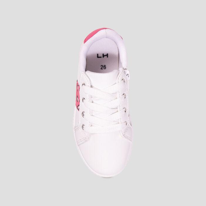 Baskets tennis fille blanc