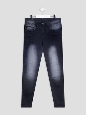 Jeans slim stretch Liberto noir garcon