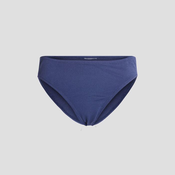 Bas de maillot de bain femme bleu marine