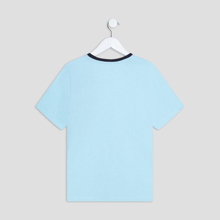 Ensemble pyjama Freegun garçon bleu turquoise