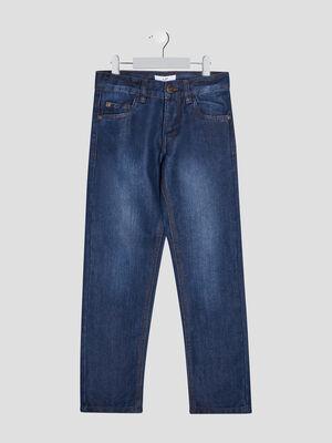 Jeans regular effet delave denim stone garcon