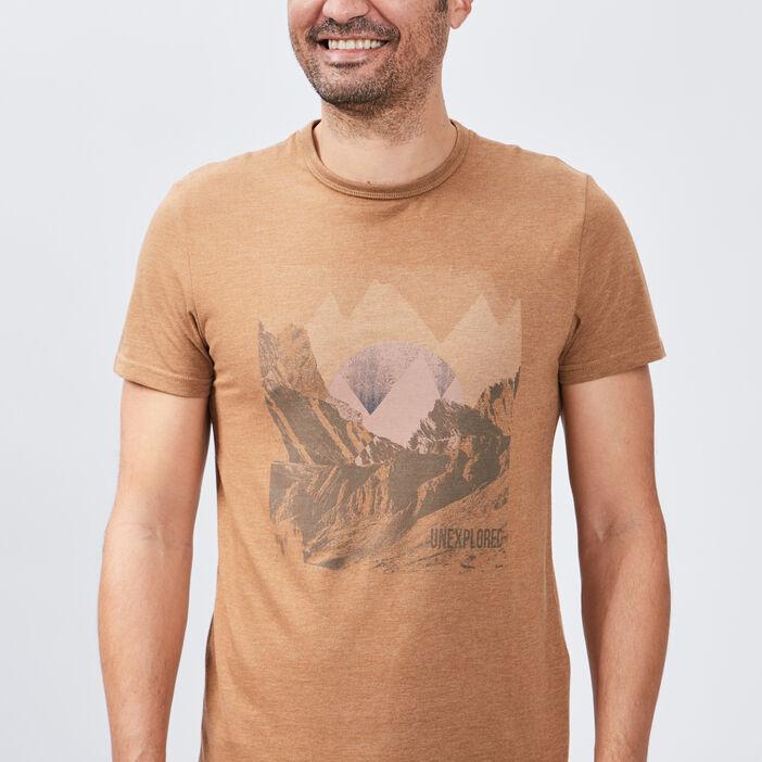 T-shirt manches courtes homme sable