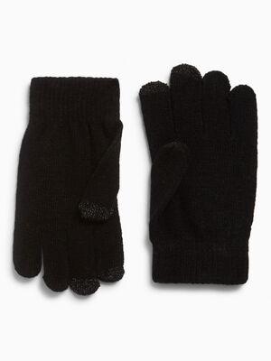 gants magiques tactiles noir femme