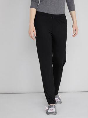 Pyjama coordonnable noir femme
