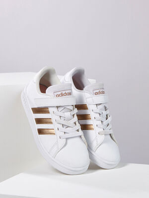 Tennis Adidas GRAND COURT blanc fille
