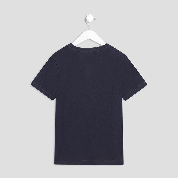 T-shirt Smileyworld garçon bleu foncé