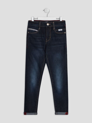 Jeans skinny Creeks denim brut garcon