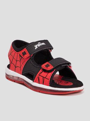 Sandales Spider Man noir garcon