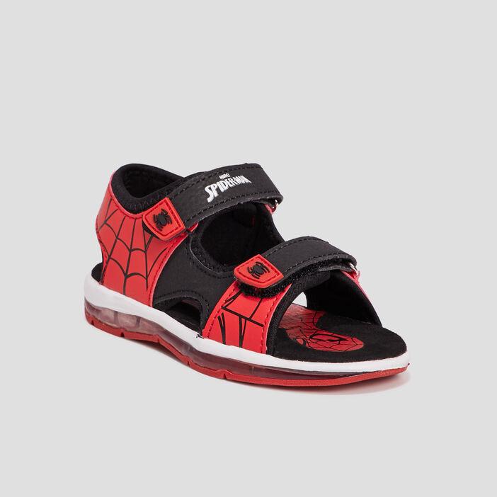 Sandales Spider-Man garçon noir