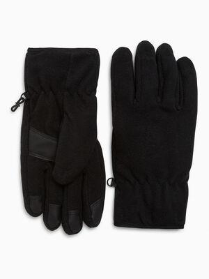 Gants antiderapants unis noir mixte