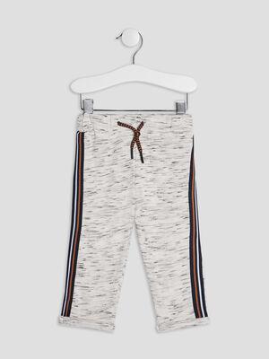 Pantalon jogging avec bandes bleu bebeg