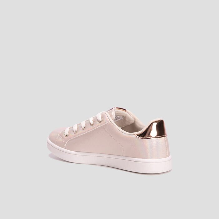 Baskets tennis Creeks fille couleur or