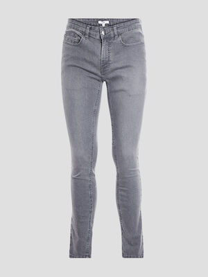 Jeans skinny gris homme