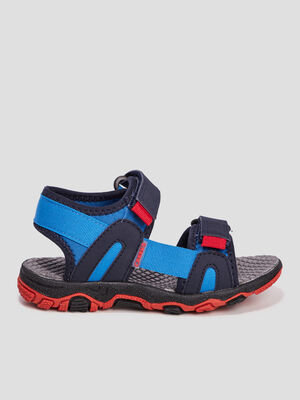Sandales a scratchs Creeks bleu garcon