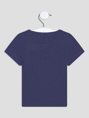 T shirt Pat et Ripaton bleu marine bebeg