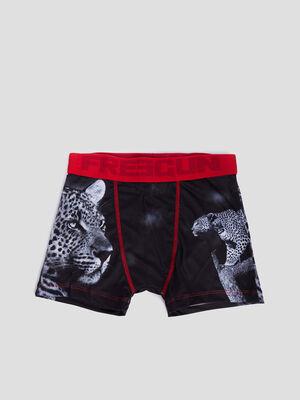 Boxer Freegun noir garcon