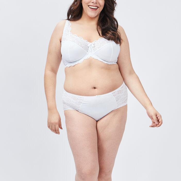 Soutien-gorge grande taille femme grande taille blanc