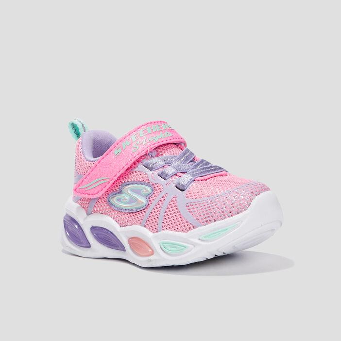 Runnings Skechers bébé fille rose