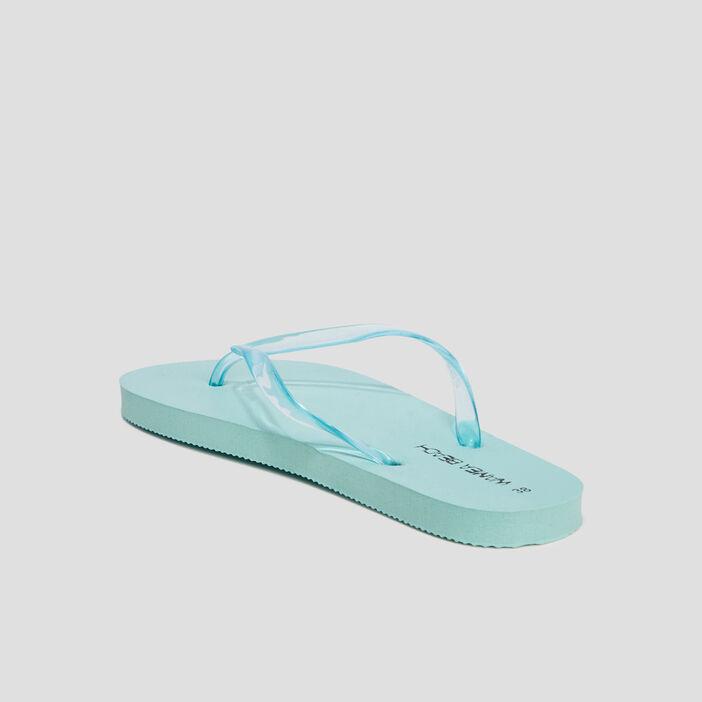 Tongs Wamea Beach femme bleu turquoise
