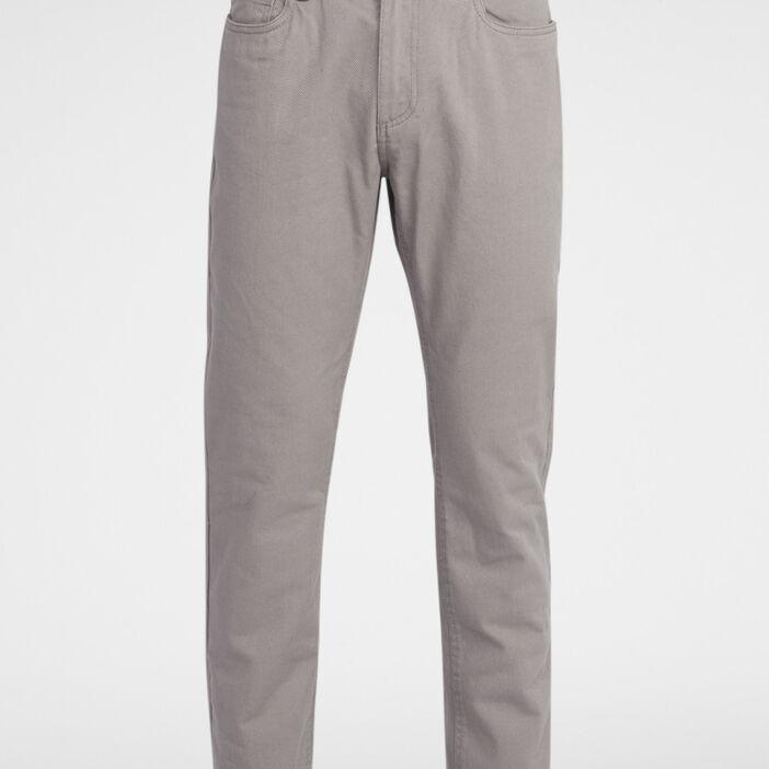 Pantalon droit homme gris