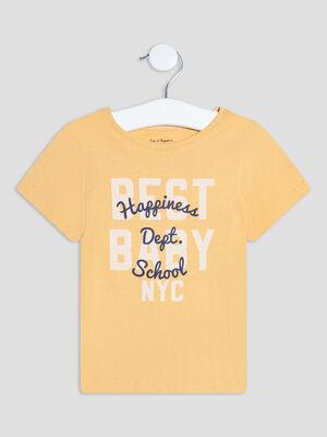 T shirt Pat et Ripaton jaune bebeg