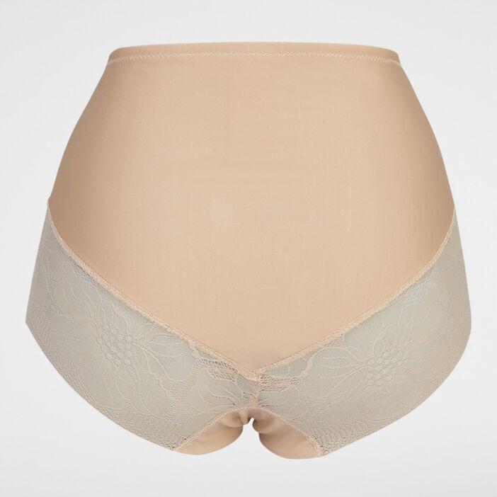 Culotte gainante femme beige