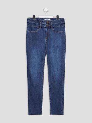 Jeans regular denim brut fille
