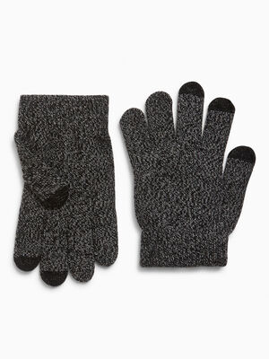 gants magiques tactiles gris femme
