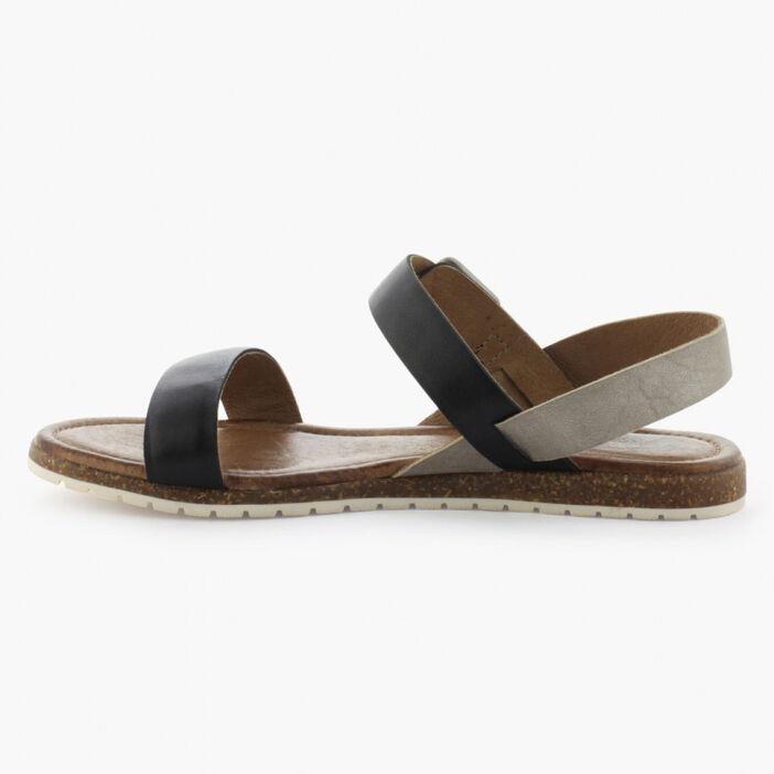 Sandale femme noir